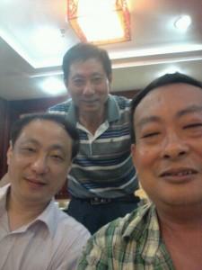 从左至右:11中班刘鲁平,11中班熊星,16中班陈杰平