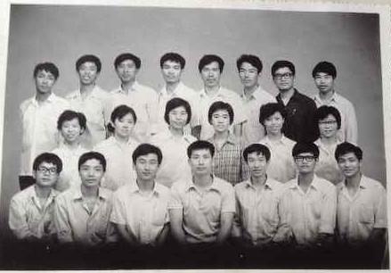 乙大班九中班合影, 1982年8月
